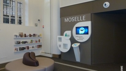 Aménagement Office tourisme – Metz – 4m2